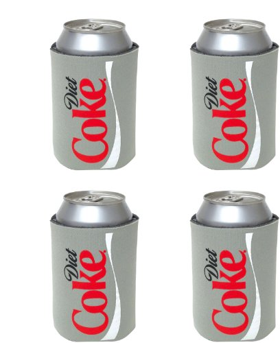 kolder-diet-coke-can-koosie-4-pack-silver