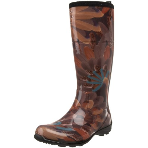 Women's Rain Boots:Kamik Women's Heather Rain Boot,Brown,6 M US