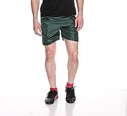 Fizzaro Men Solid Green Boxer Shorts by Fizzaro