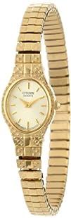 Citizen Womens EK3682-97P Gold-Tone Expansion Bracelet Watch