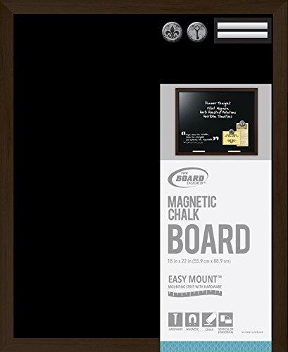 Board Dudes Magnetic Chalk Board Wood Style Frame 22x18 (Board Dudes Magnetic compare prices)