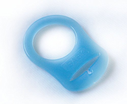 Mamasliebchen Silikonring (Adapter) für Schnullerketten