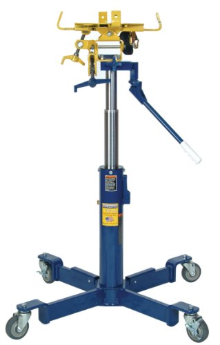 Hein-Werner Hw93720 Blue 2-Stage Telescopic Transmission Jack - 1/2 Ton Capacity