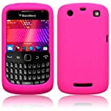 BlackBerry Curve 9360 Silicone Skin Case / Cover / Shell - Hot Pink
