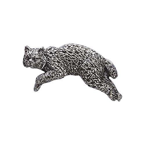 pewter-bobcat-lapel-pin-brooch-m048