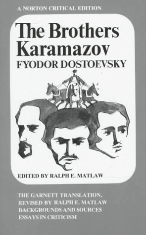 The Brothers Karamazov: The Garnett Translation (Norton...
