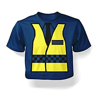 Police Costume Baby T-shirt