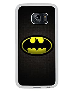 Batman 5 White Shell Phone Case Fit For Samsung Galaxy S7 Edge,Beautiful Cover at Gotham City Store
