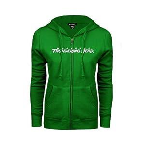 Marshall Ladies Kelly Green Fleece Full Zip Hoodie