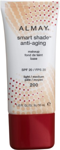 Smart Shade Anti Aging Makeup Light/ Medium, 1.0-Fluid Ounce
