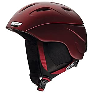 Smith Optics Intrigue Women's Ski Snowmobile Helmet , Merlot , Small