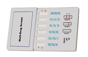 Amazon.com: Six Drug (THC/Coc/Opi/Amph/Mamph/Benzo) Dip Test (2 tests