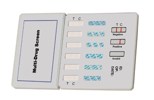 Devon Medical 12 Panel Urine Dip Instant Drug Test - AMP, COC, BZO, OPI, THC, PCP, BAR, MAMP, OXY, MTD, PPX and MDMA/Ecstacy (1 Test)