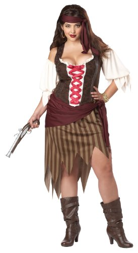 California Costumes Plus-Size Buccaneer Beauty Top Costume