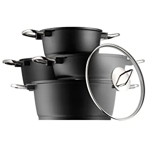Wmf 592044290 bueno induction bater a de cocina 4 for Amazon bateria cocina