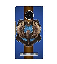 Fiobs Eagle Back Case Cover for YU YUNIC