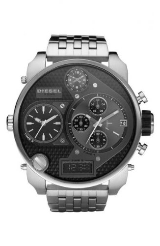 Diesel Men's DZ7221 SBA Silver Watch