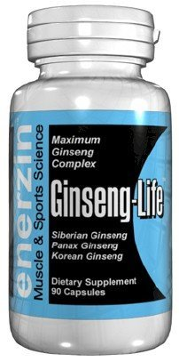 Ginseng-Life - 90 Capsules Potent Tri-Ginseng Complex 1000mg