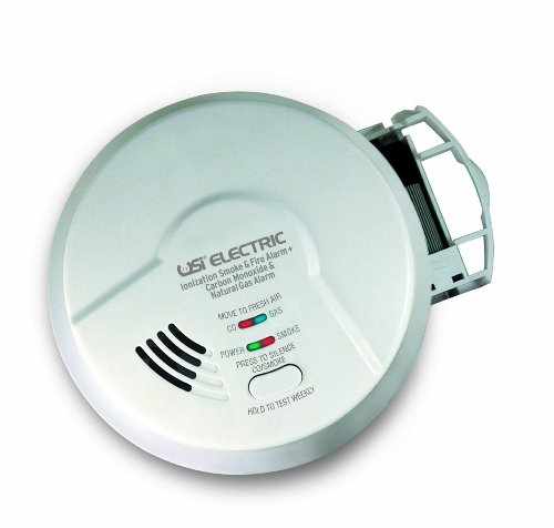 Universal Security Instruments Micn109 3-In-1 Smoke, Carbon Monoxide And Natural Gas Alarm Pack 2