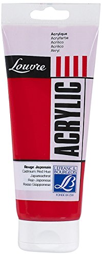Lefranc & Bourgeois Peinture Acrylique Louvre 200 Ml Rouge Japonais