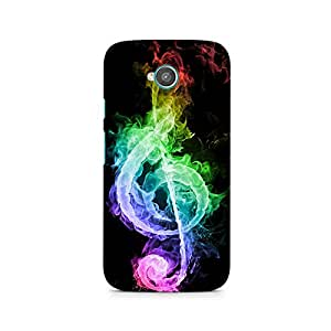 TAZindia Designer Printed Hard Back Case Cover For Moto E2