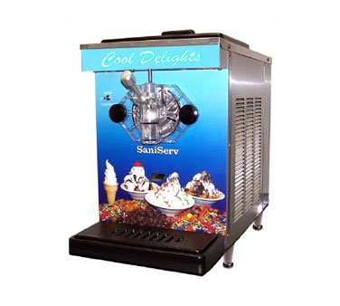 SaniServ DF200 DuraFreeze 200 Soft/Serve Ice Cream/Yogurt Machine, counter mode from SaniServ