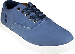 US Polo Assn Dylan Sneakers Blue B01N6OEZL4