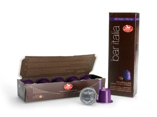 Choose Bar Italia Espresso Intenso (Nespresso compatible) capsules - Saquella