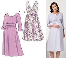Kwik Sew Maternity Empire Dress Pattern By The Each