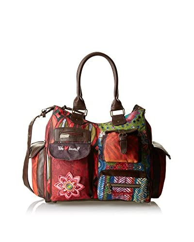 Desigual Bolso asa al hombro Mini London Multicolor