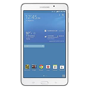 samsung galaxy tab 4 4g lte tablet white 7. Black Bedroom Furniture Sets. Home Design Ideas