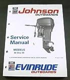 1990 90 JOHNSON EVINRUDE Boat Outboards SERVICE MANUAL