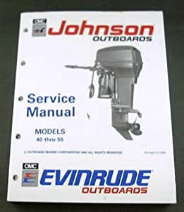 amazon com 1990 90 johnson evinrude boat outboards service manual other products 1996 Johnson Outboard Wiring Diagrams 1996 Evinrude 50 HP Outboard