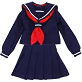 セーラー服set 紺×紺
