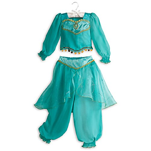 Disney Store Princess Jasmine Costume Aladdin Fancy New Size 5/6