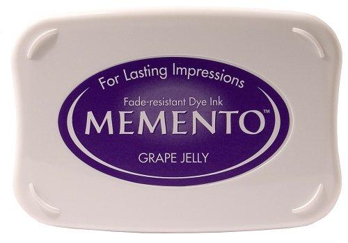 Tsukineko Full-Size Memento Fade Resistant Inkpad, Grape Jelly