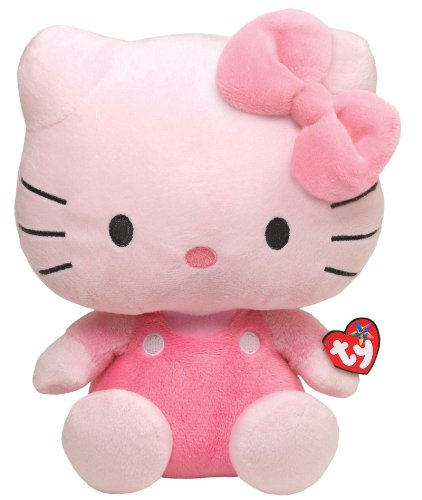 Ty-Beanie-Buddy-Hello-Kitty-All-Pink-Large