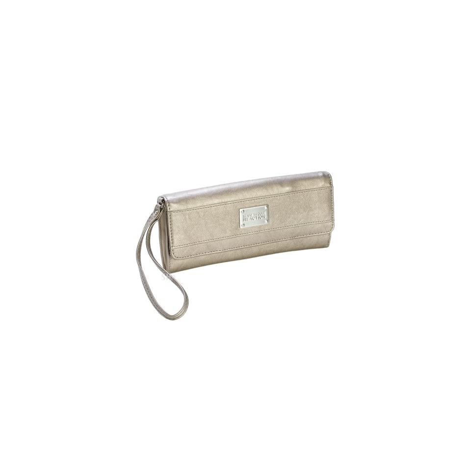 Kenneth Cole Reaction Women's Clutch Wallet and Wristlet (Pewter) Clothing