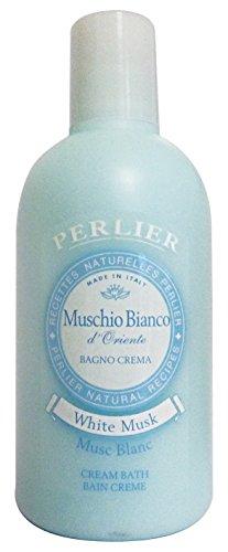 Set 6 PERLIER Bagno Muschio Bianco 500 Ml. Saponi e cosmetici