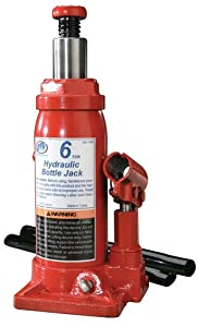 ATD Tools 7382 Heavy Duty Hydraulic Side Pump Bottle Jack - 6 Ton Capacity at Sears.com