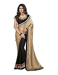 Shree Sarees Women Silk Georgette With Super Coat & Chiffon Saree