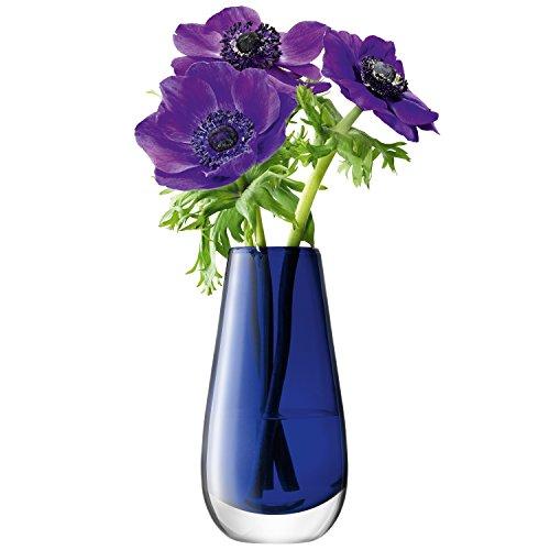 lsa vase fleurs cobalt 14 cm design l gant et contemporain pour la maison les petites. Black Bedroom Furniture Sets. Home Design Ideas