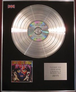 DAVID ROTH LEE CD Platinum Disc-EAT EM e SMILE