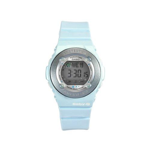 Casio Women's BG1300PP-2DR Baby-G Blue Bezel Shock Resistant Watch