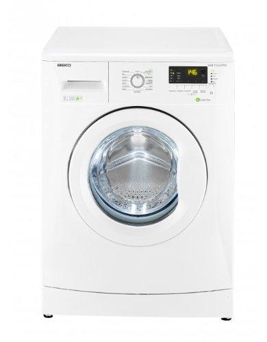 Beko WMB 71232 PTEU Waschmaschine Frontlader / A++B / 194 kWh/Jahr / 9020 Liters/Jahr / 1200 UpM / 7 kg / Multifunktionsdisplay / 15 Waschprogramme / Pet Hair Removal / weiß