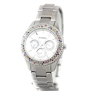 Fossil Stella ES3049 Stainless Steel Watch