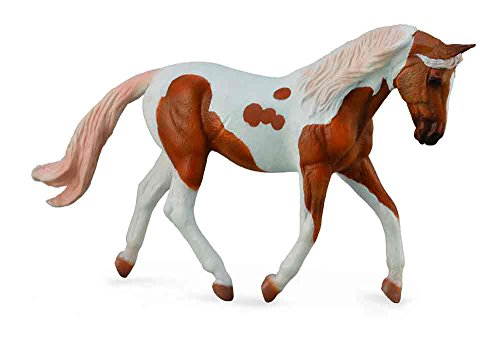 Collect A Horses Pinto Mare Palomino Toy Figure