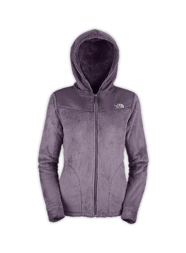 The North Face Women'S Oso Fleece Hoodie Jacket Greystone Blue L