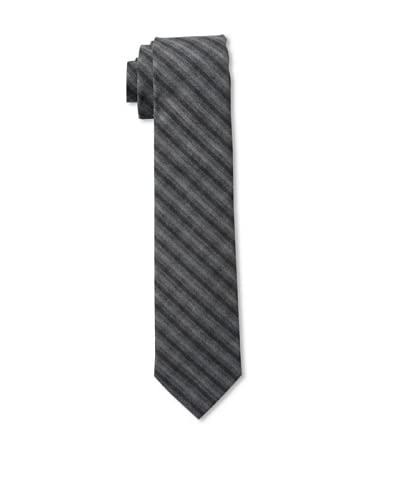 Gitman Men's Stripe Tie, Grey