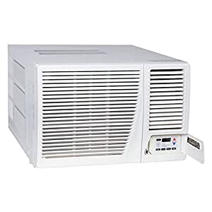 Amana ah183g35ax window air conditioner with for Window heat pump